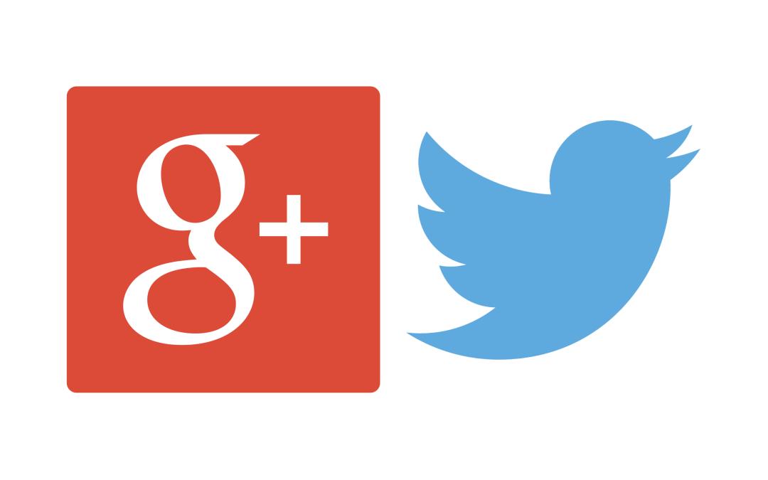 Google+ a Twitter expanze