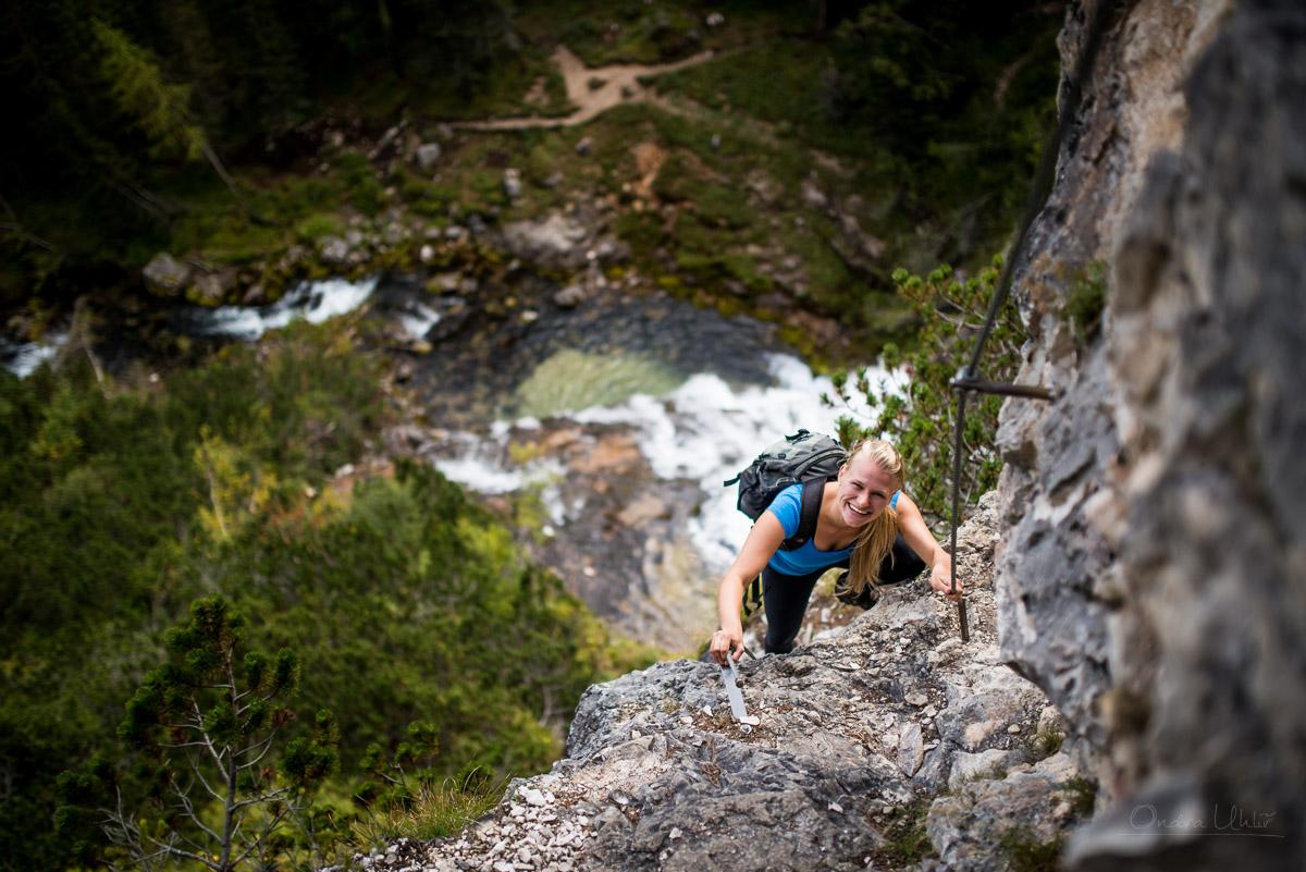 Cascate di Fanes - Dolomity