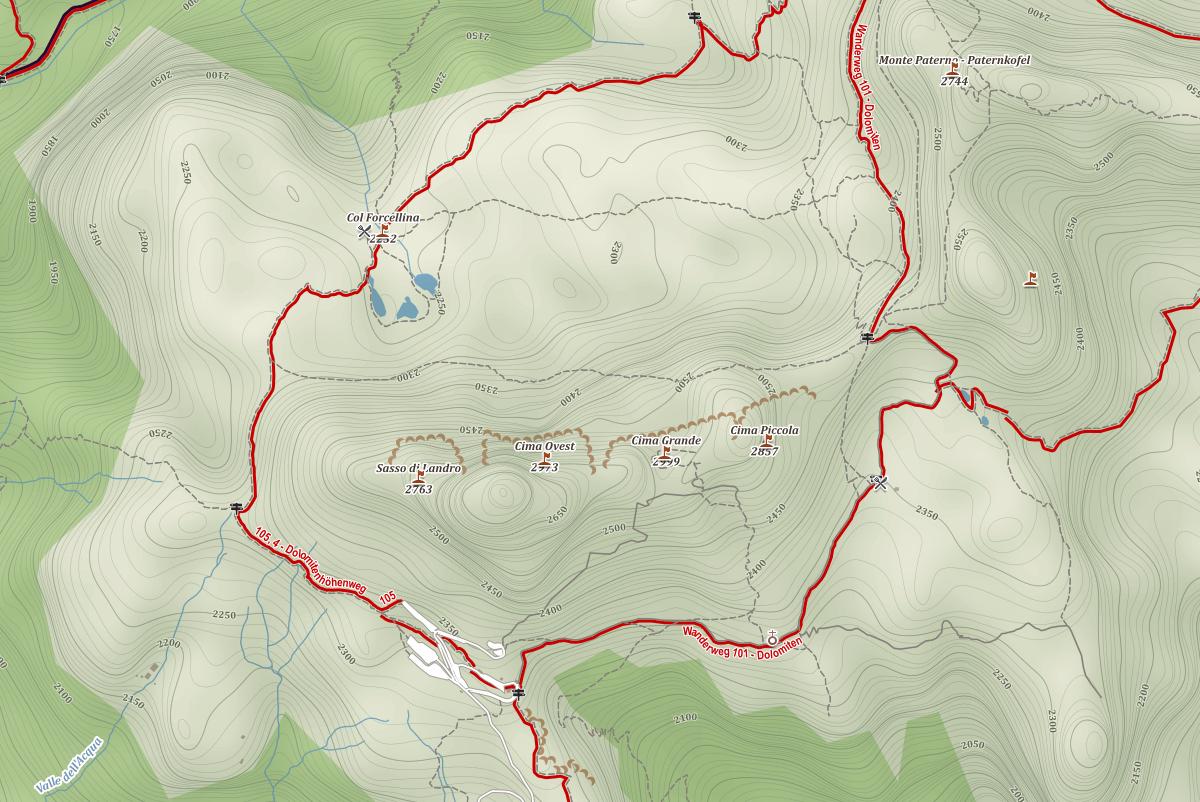 Mapy.cz - Dolomity