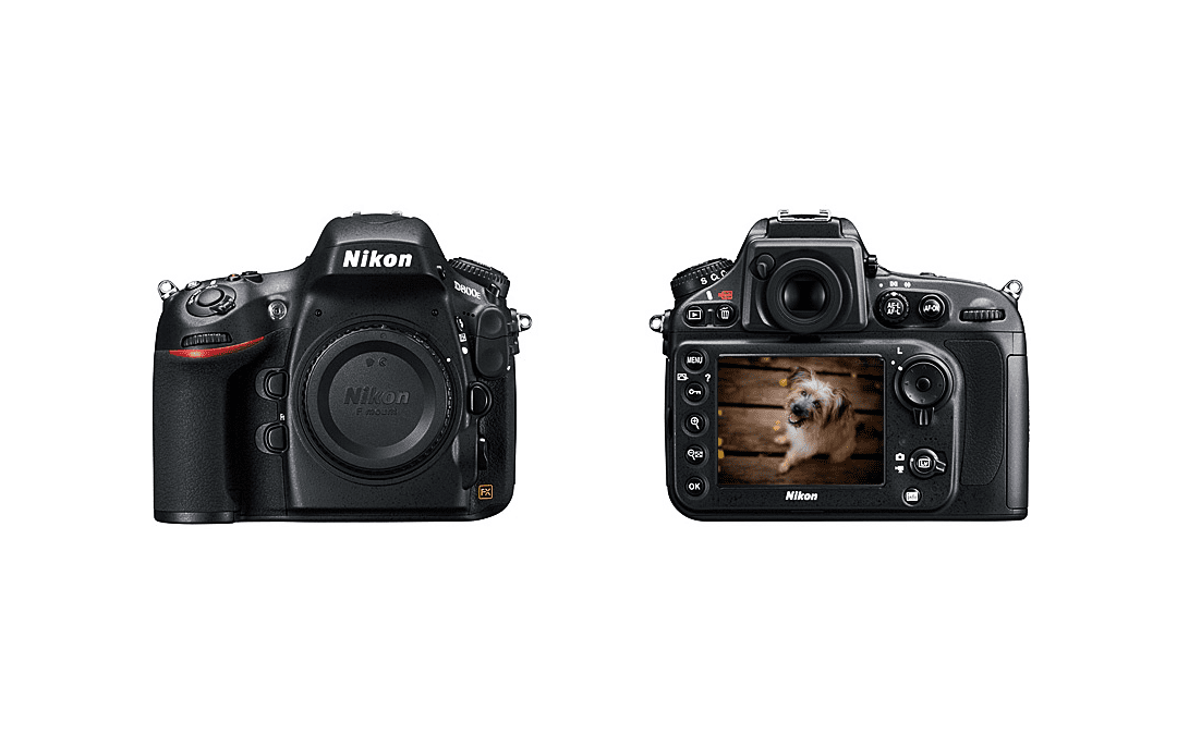 Moje nastavení Nikonu D800E